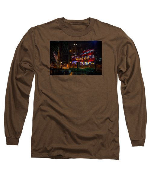 Main Street Station At Night Long Sleeve T-Shirt