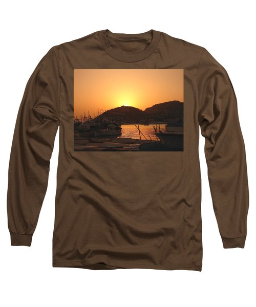 Mallorca 1 Long Sleeve T-Shirt by Ana Maria Edulescu