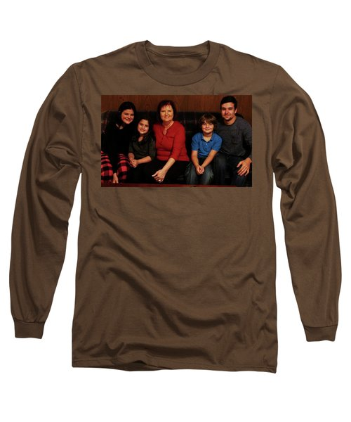 Mamma And Kids Long Sleeve T-Shirt by Gene Gregory