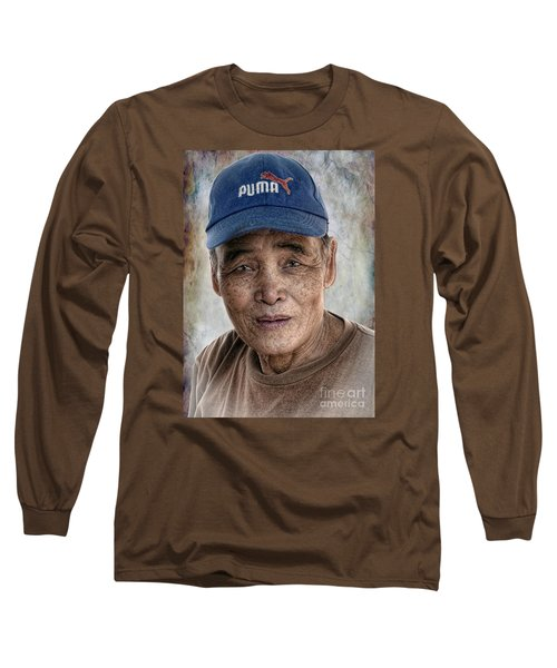 Man In The Cap Long Sleeve T-Shirt