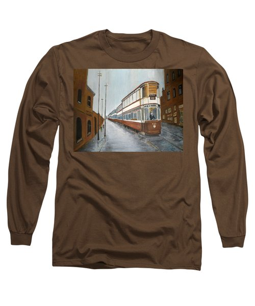 Manchester Piccadilly Tram Long Sleeve T-Shirt