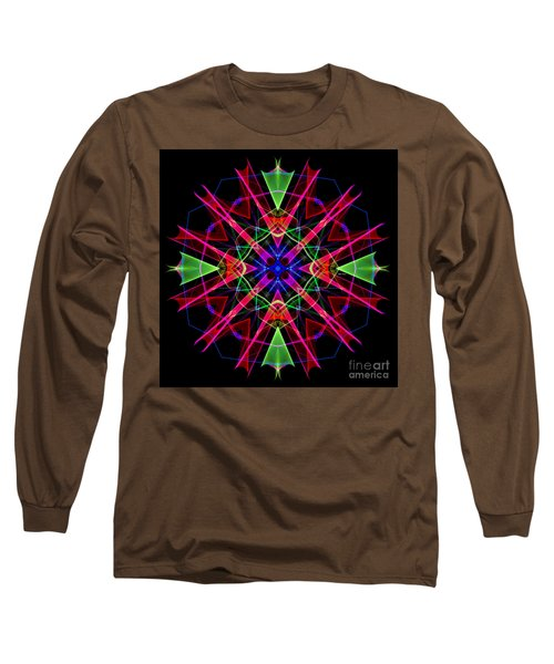 Long Sleeve T-Shirt featuring the digital art Mandala 3351 by Rafael Salazar