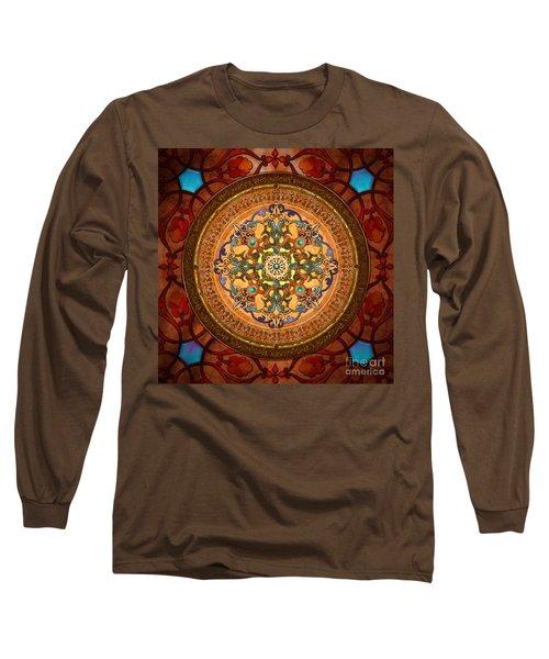 Mandala Arabia Long Sleeve T-Shirt
