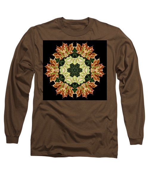 Mandala Autumn Star Long Sleeve T-Shirt