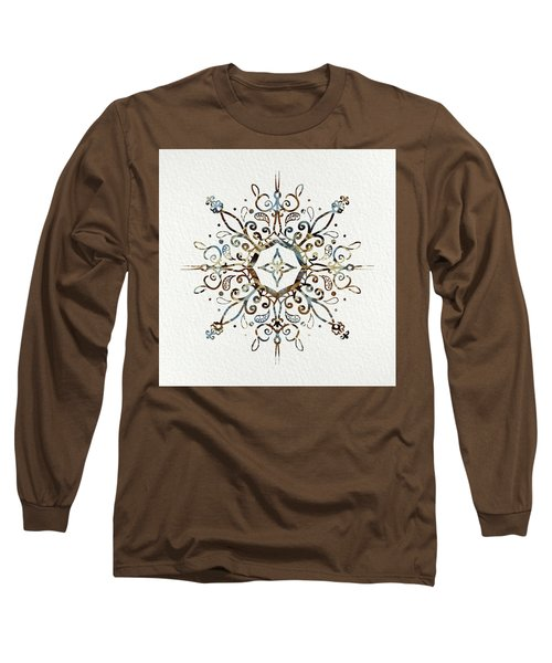 Mandala Earth And Water 3 Long Sleeve T-Shirt