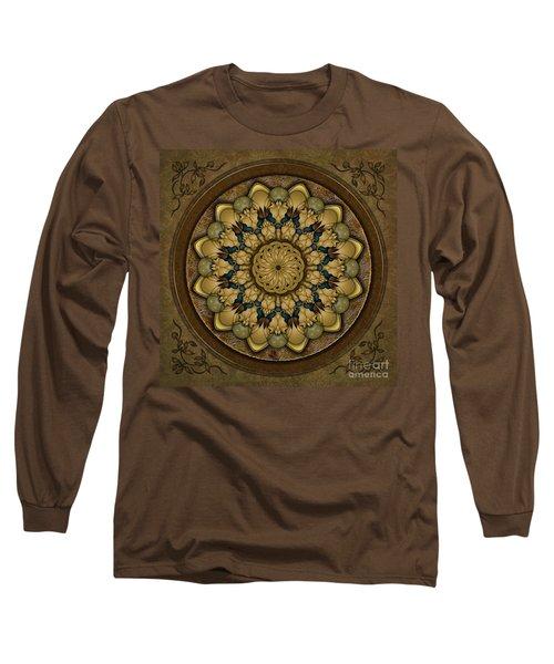 Mandala Earth Shell Long Sleeve T-Shirt
