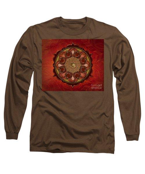 Mandala Flames Sp Long Sleeve T-Shirt