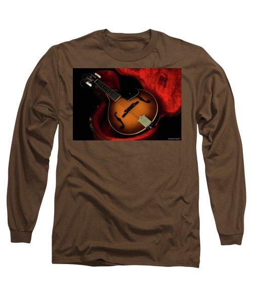 Mandolin Guitar 66661 Long Sleeve T-Shirt by Kevin Chippindall