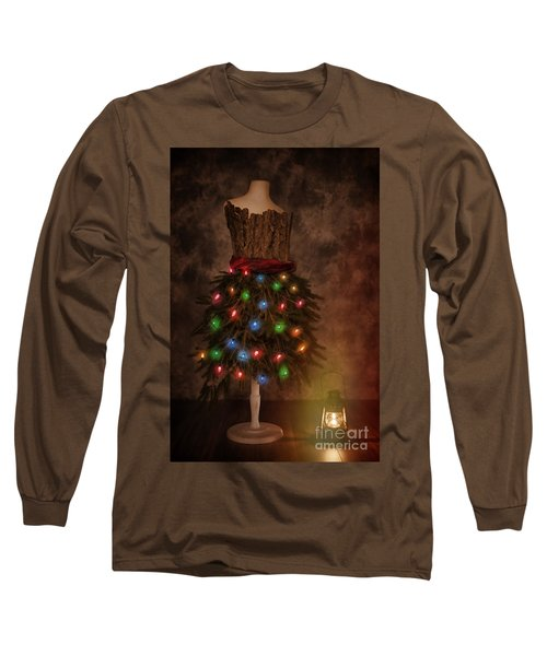 Mannequin Dressed For Christmas Long Sleeve T-Shirt