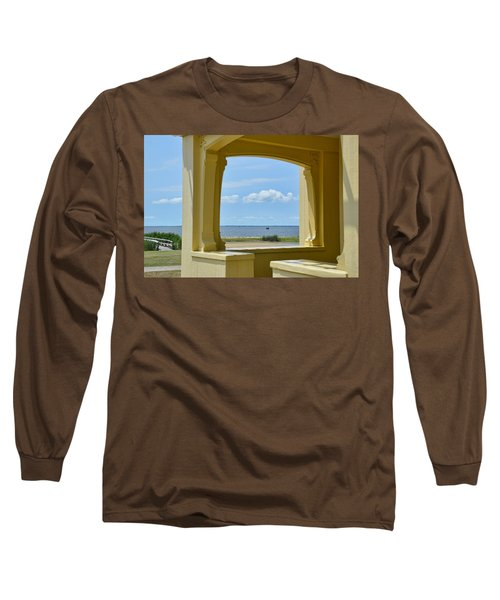 Mansion View Long Sleeve T-Shirt by JAMART Photography