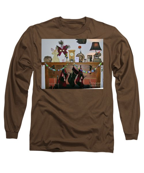 Mantel With Mask Long Sleeve T-Shirt