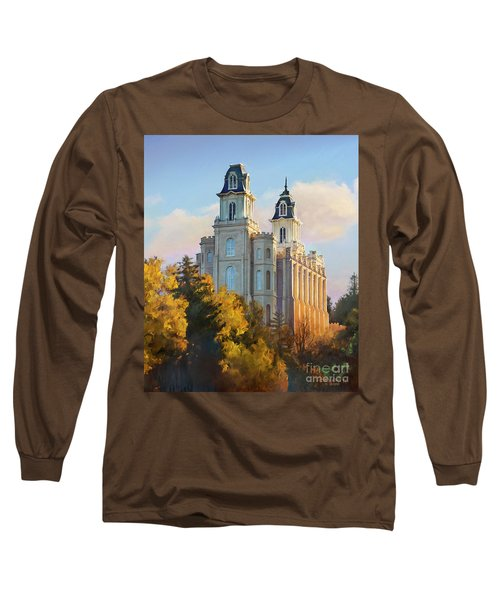 Manti Temple Tall Long Sleeve T-Shirt