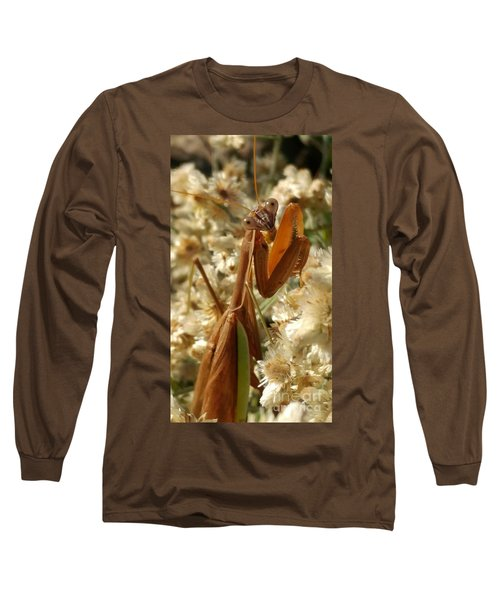 Mantis Pose Long Sleeve T-Shirt