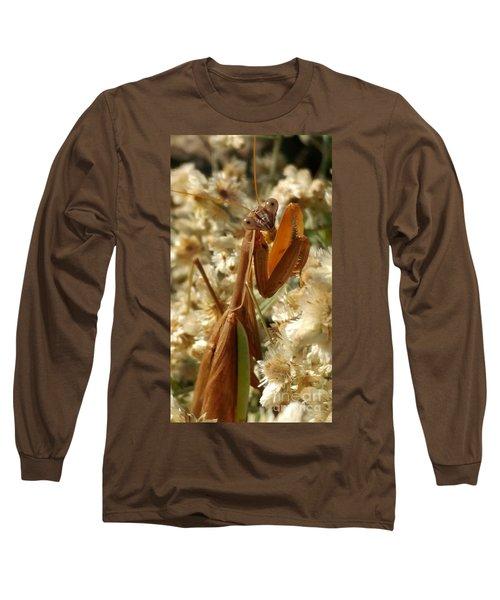 Mantis Pose Long Sleeve T-Shirt