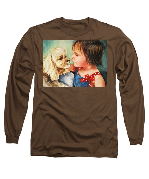 Mara Meets Mocha Long Sleeve T-Shirt