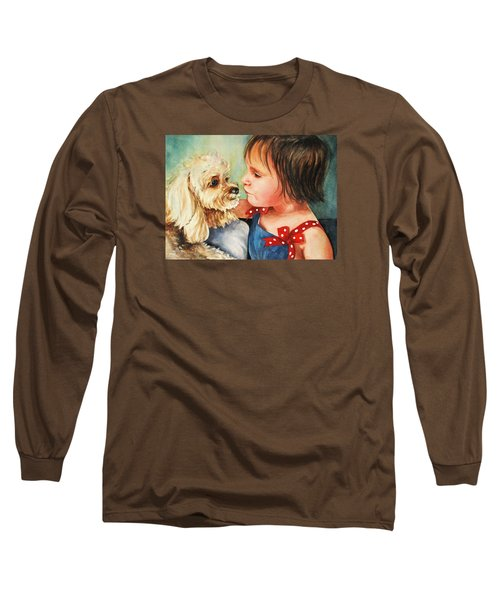 Mara Meets Mocha Long Sleeve T-Shirt