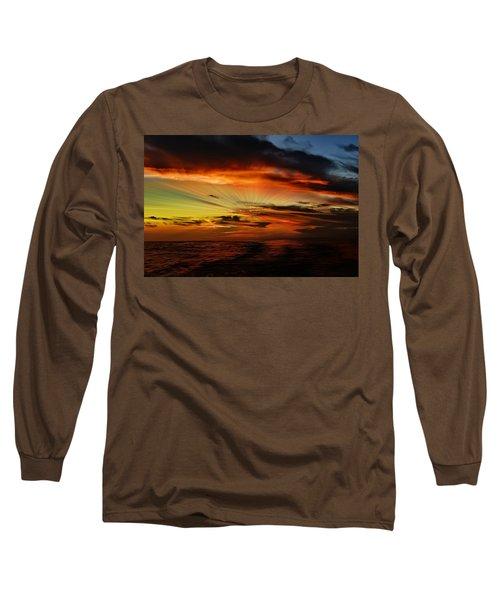 Marco Sunset Rays Long Sleeve T-Shirt