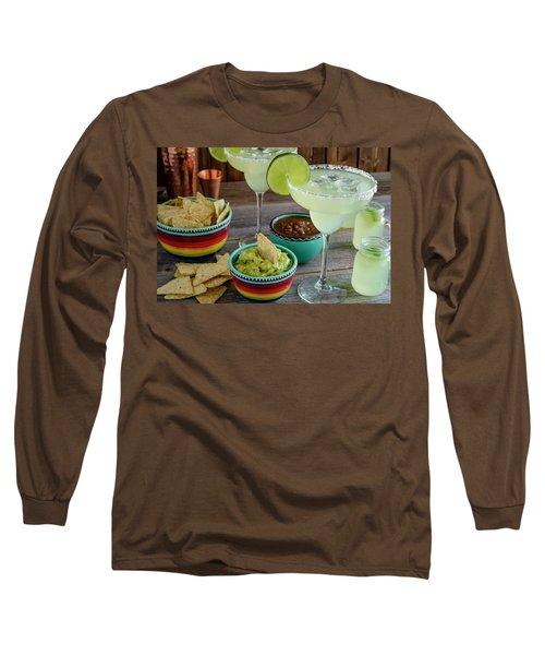 Margarita Party Long Sleeve T-Shirt by Teri Virbickis