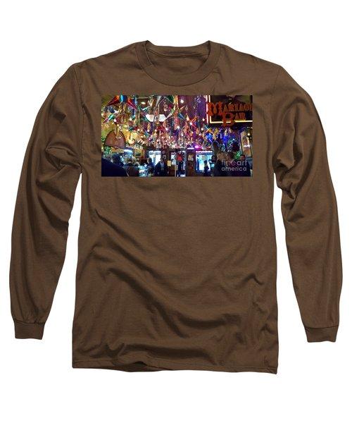 Mariachi Bar In San Antonio Long Sleeve T-Shirt