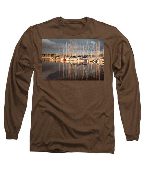Marina Sunset 6 Long Sleeve T-Shirt