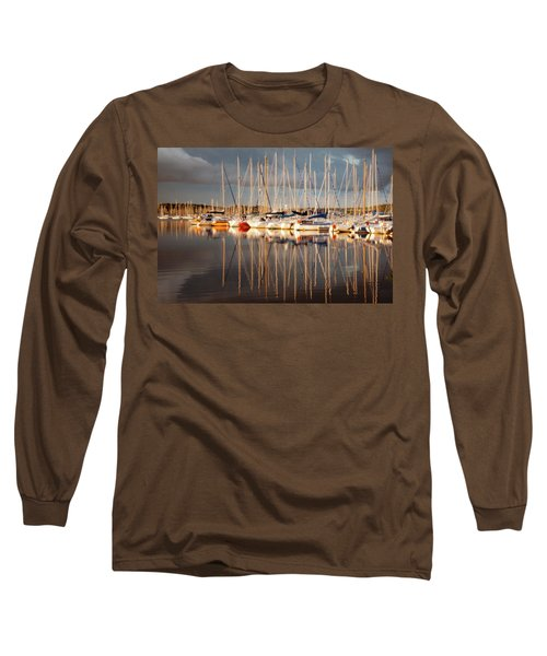 Marina Sunset 6 Long Sleeve T-Shirt