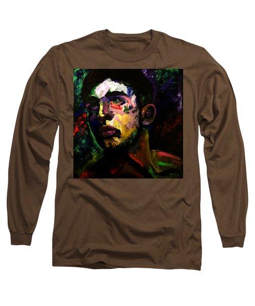 Mark Webster Artist - Dave C. 0410 Long Sleeve T-Shirt