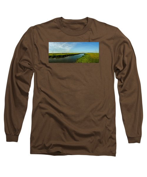 Long Sleeve T-Shirt featuring the photograph Marshes Of Glynn by Laura Ragland