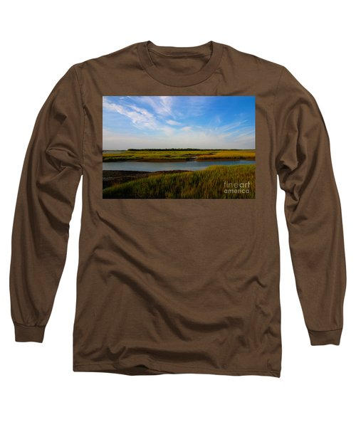 Marshland Charleston South Carolina Long Sleeve T-Shirt