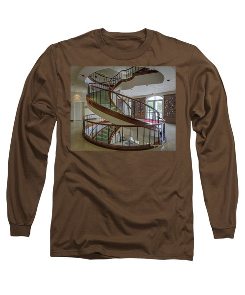 Marttin Hall Spiral Stairway 2 Long Sleeve T-Shirt