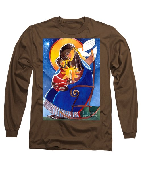 Mary, Seat Of Wisdom - Mmwis Long Sleeve T-Shirt