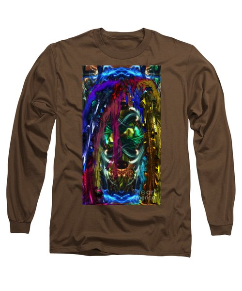 Mask Of The Spirit Guide Long Sleeve T-Shirt
