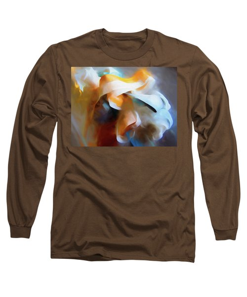 Masking Tape And Paint Composition Long Sleeve T-Shirt