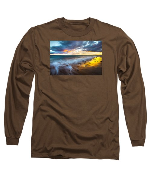 Maui Shores Long Sleeve T-Shirt by James Roemmling