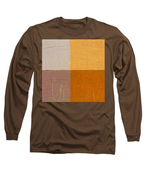 Mauve And Peach Long Sleeve T-Shirt