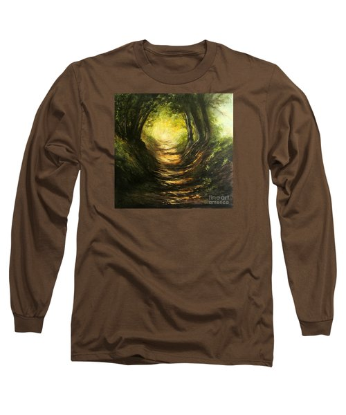 May Your Light Always Shine Long Sleeve T-Shirt by Valerie Travers