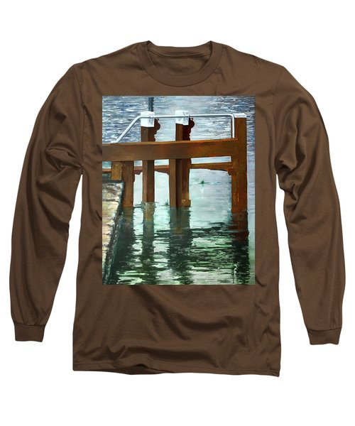 Maynooth Lock Long Sleeve T-Shirt by Marty Garland