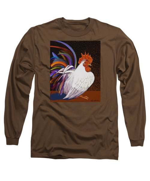 Long Sleeve T-Shirt featuring the painting Me, Me, Me by Bob Coonts