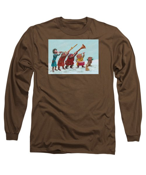 Medieval Merriment Long Sleeve T-Shirt by Charles Cater