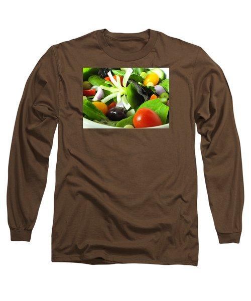 Mediterranean Salad Long Sleeve T-Shirt