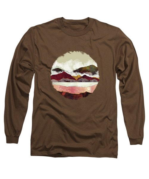Melon Mountains Long Sleeve T-Shirt by Katherine Smit