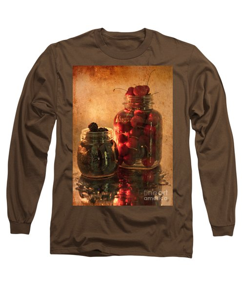 Memories Of Jams, Preserves And Jellies  Long Sleeve T-Shirt by Sherry Hallemeier