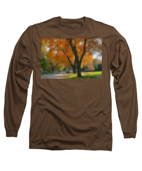 Memory Of An Autumn Day Long Sleeve T-Shirt