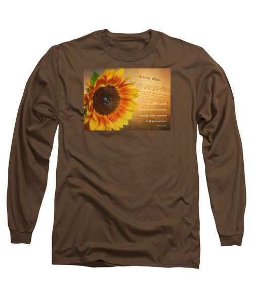 Mercy And Grace Long Sleeve T-Shirt