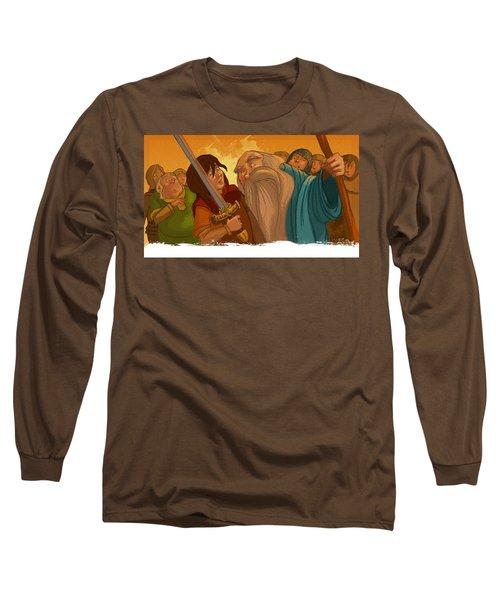 Merlin's Scrutiny Long Sleeve T-Shirt