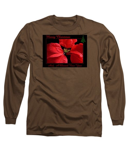 Long Sleeve T-Shirt featuring the photograph Merry Christmas 2015 by Judy Johnson