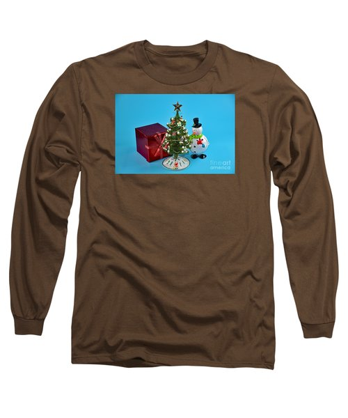 Merry Christmas To You Long Sleeve T-Shirt by Ray Shrewsberry