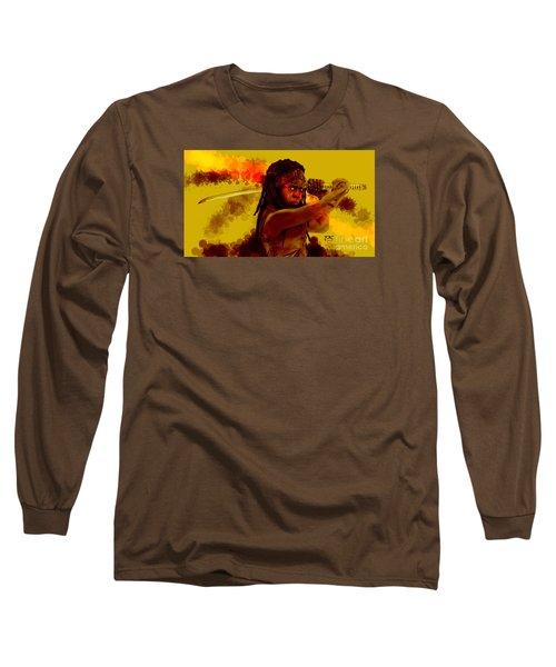 Michonne Long Sleeve T-Shirt by David Kraig