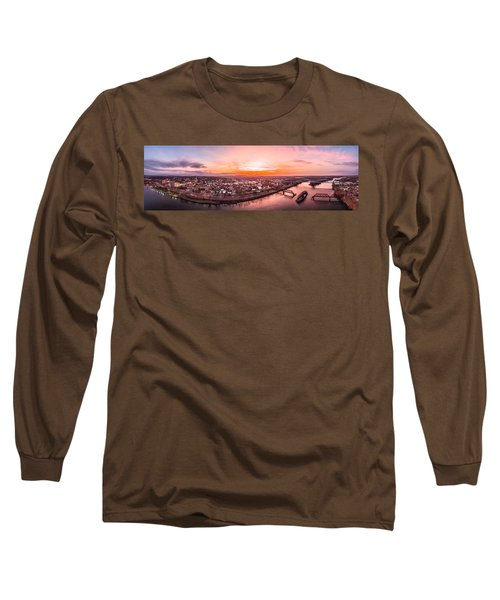 Middletown Connecticut Sunset Long Sleeve T-Shirt