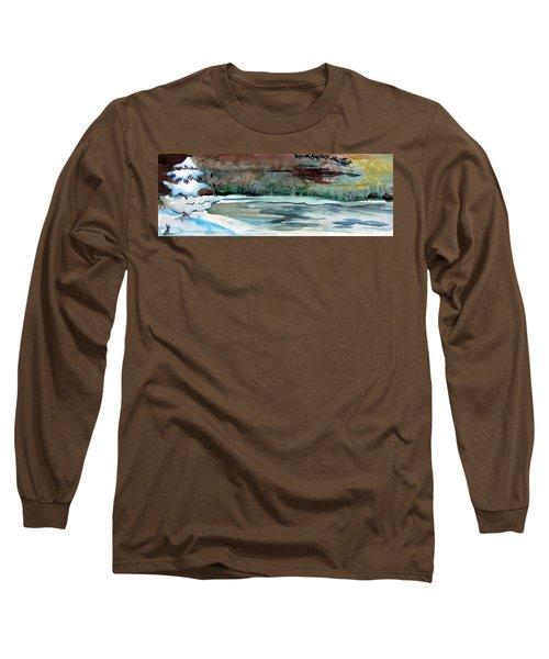Midnight Rider Long Sleeve T-Shirt by Mindy Newman