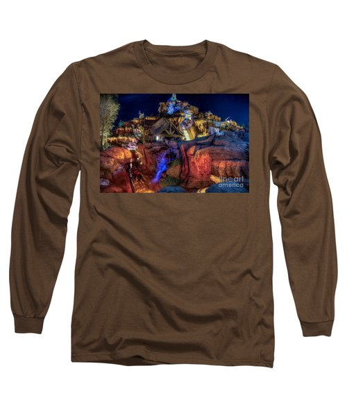 Midnight Splash Long Sleeve T-Shirt